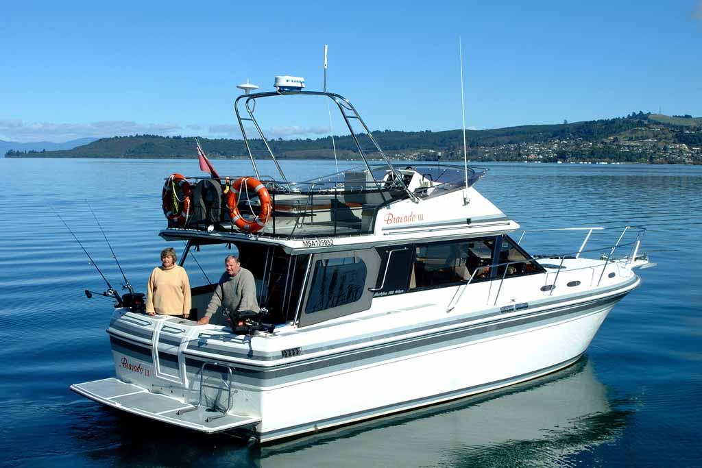 bravado 3 taupo charter boat